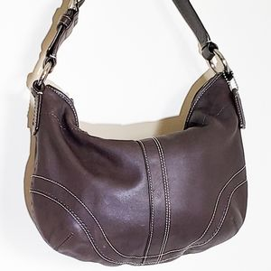 COACH | Hobo Chocolate Brown Leather Bag